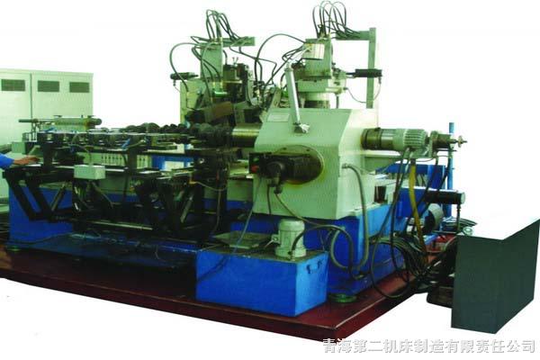 QH2-040A数控曲轴圆角滚压智能柔性加工机床