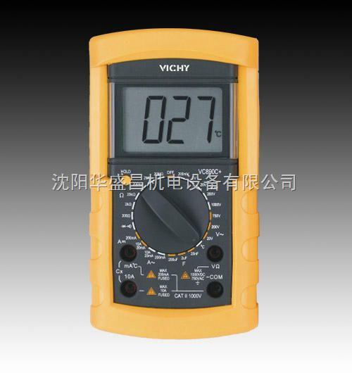 数字万用表vc890c
