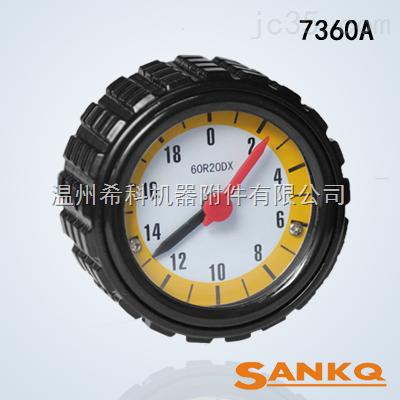SK7360A铝压花、直纹带表手轮