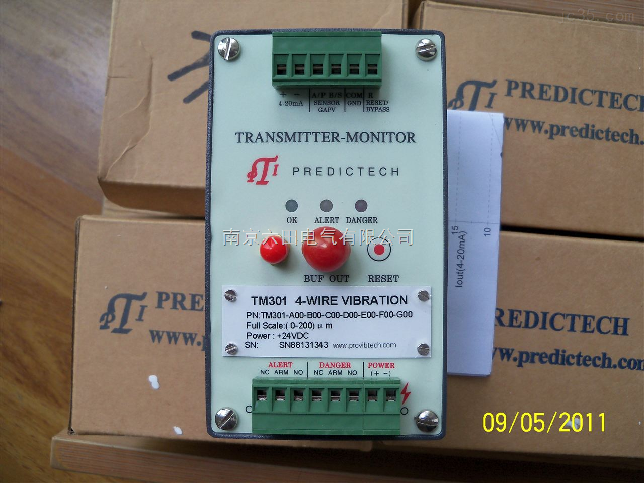 ProvibTech振动前置器TM301-A02-B00-C00-D00-E00-F00-G00