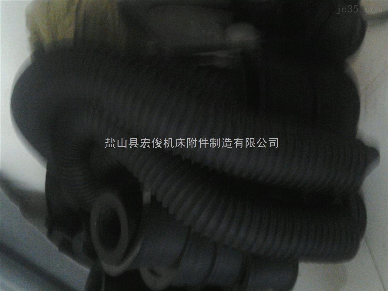 耐高温保护套 耐磨损帆布伸缩保护套