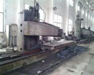 二手1.2X54米单臂刨床B1012 济南二机产 可试机