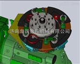 KFRW系列D54型 四工位轴承套圈辗环机