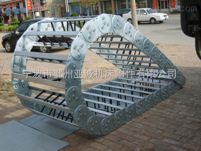 高刚性机床不锈钢制拖链