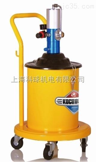 科球GZ-10气动黄油加注机/科球10型黄油机/20L升气动黄油机