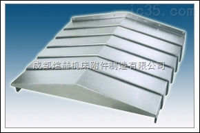 特殊钢制伸缩导轨防尘罩加工制造厂产品图片