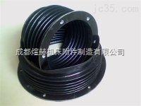 法兰式油缸防护罩 活塞杆防尘套供应商