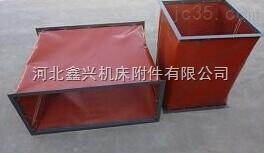 电厂耐高温红色硅胶软连接