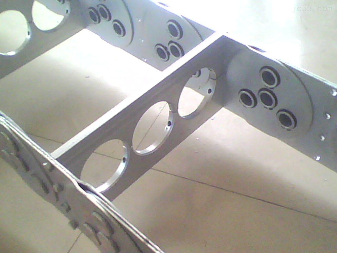 机械不锈钢钢制拖链