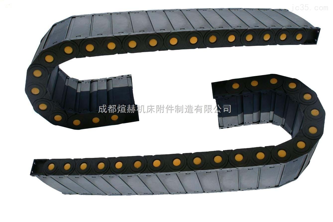 供应质塑料电缆拖链尺寸产品图片