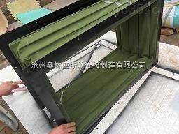 方形帆布伸缩软连接  风机软连接