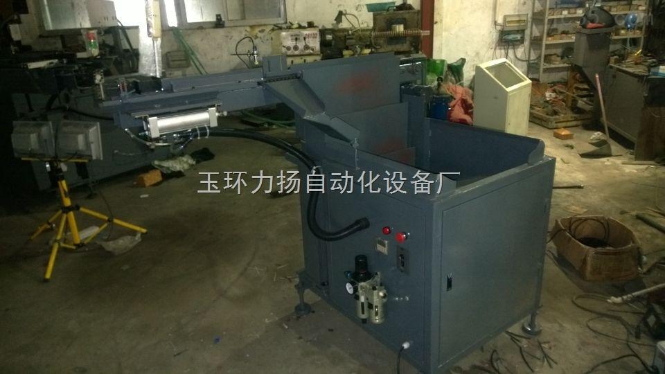中频炉自动上料机详细资料_圆钢铁棒上料设备