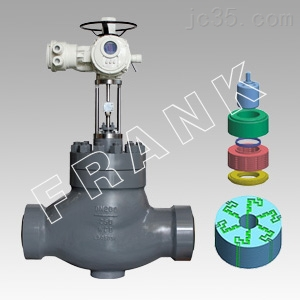 进口高压差迷宫式调节阀、进口平衡式调节阀、进口高温高压调节阀
