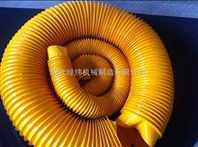 按客戶要求供應高頻熱合鋼圈支撐式自動伸縮絲杠防護罩