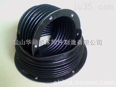 缝合型,内衬钢圈型圆形丝杠防护罩