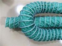 绿色帆布风机口伸缩通风管