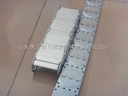 耐磨电缆穿线钢制拖链