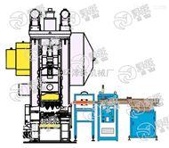 高频炉自动送料机 螺栓感应加热自动化方案