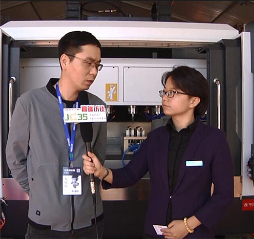 德玛力数控杨育峰:争做行业内的佼佼者