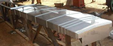 机床钣金防尘罩厂家产品图