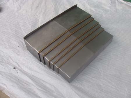 数控机床钢板式护罩产品图