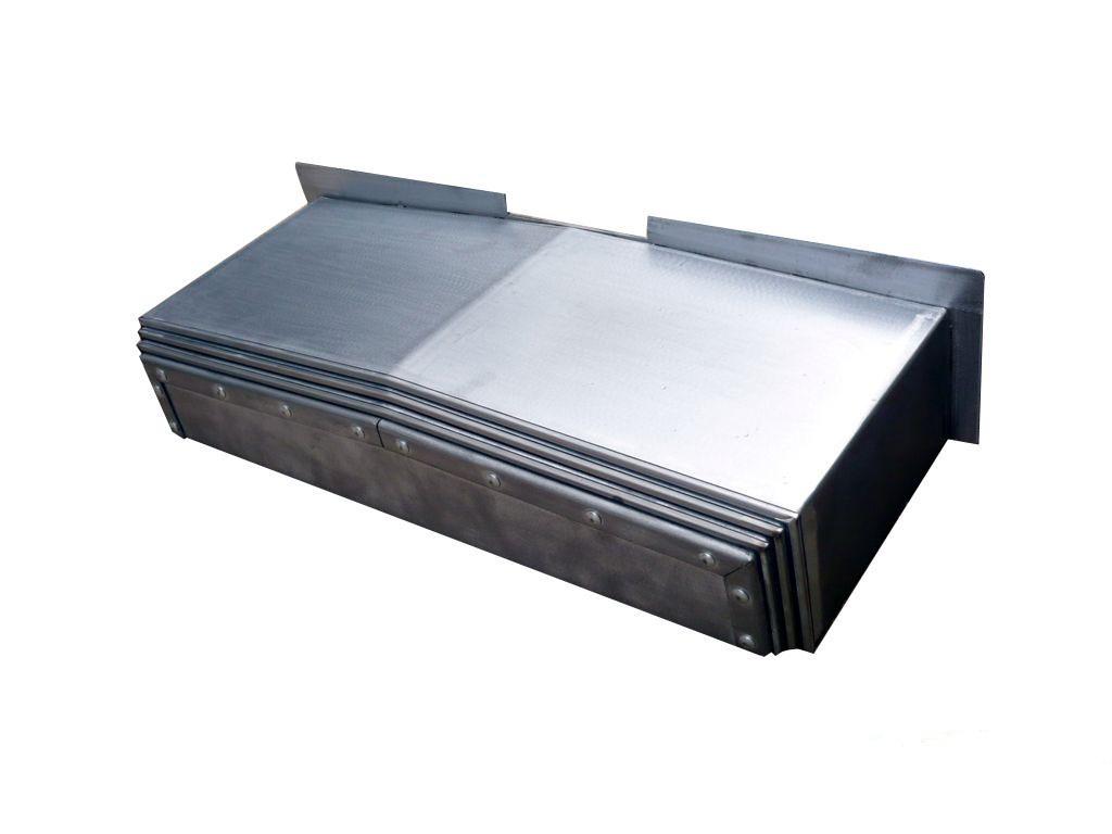 横梁伸缩钢板防护罩规格