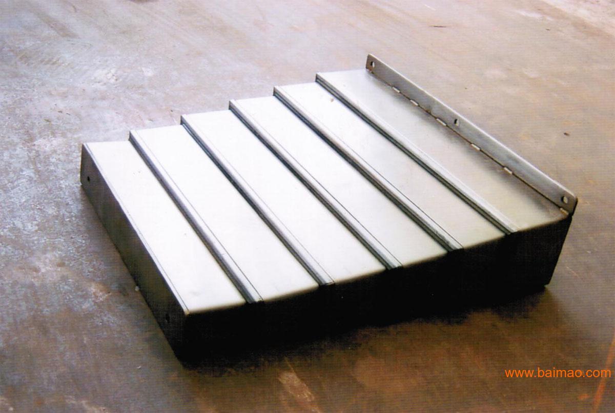 钢制导轨防尘罩产品图