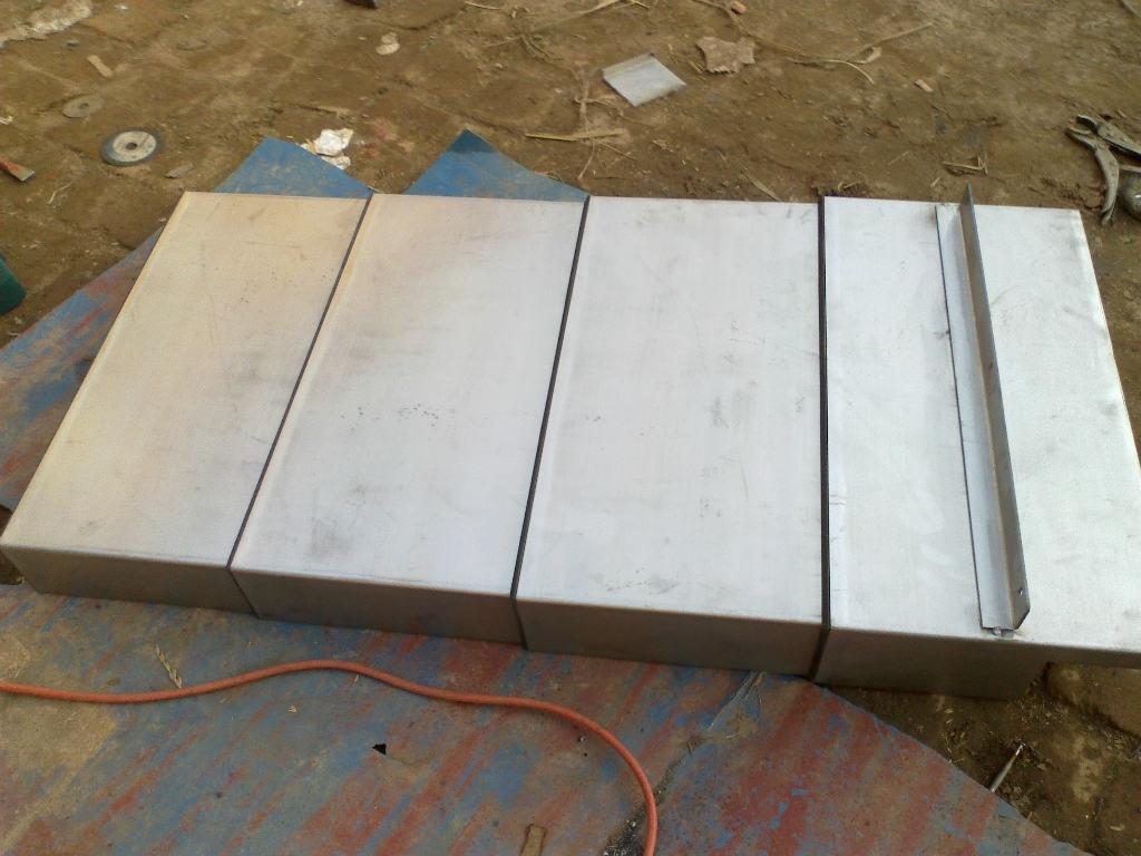 钢板式防护罩生产厂家产品图