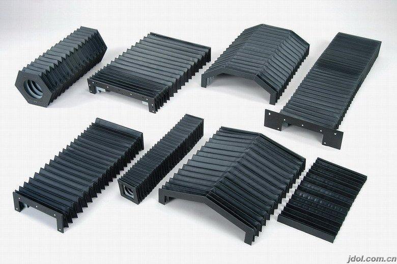 机床横梁风琴式防护罩产品图