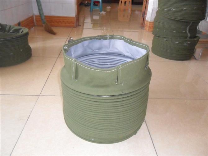 水泥灌车装罐伸缩布袋产品图