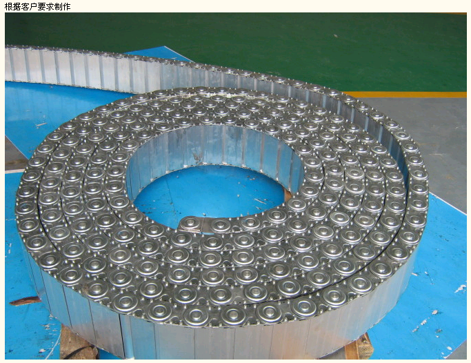 渗碳加强型钢铝拖链产品图