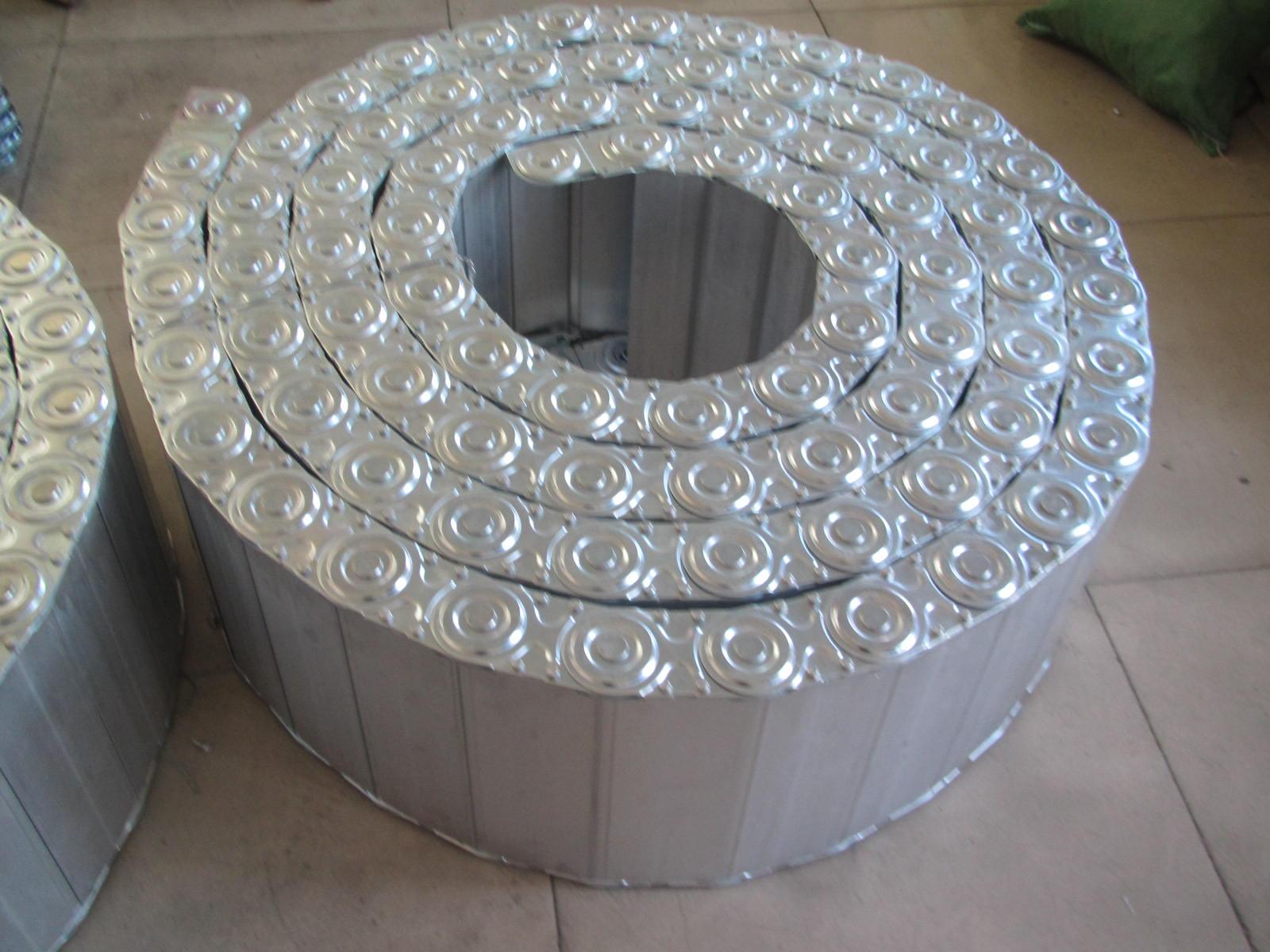 机床油管穿线钢制拖链产品图